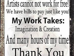 Художнику тоже нужно платить по счетам!))) | Ярмарка Мастеров - ручная работа, handmade