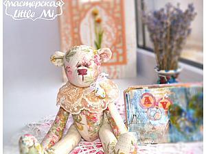 Секрет создания чудесного текстильного мишки. Ярмарка Мастеров - ручная работа, handmade.