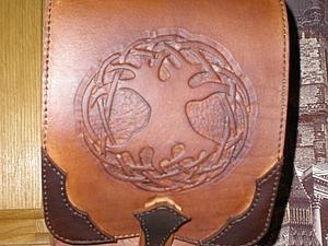 Мужская повседневная сумка своими руками. Ярмарка Мастеров - ручная работа, handmade.