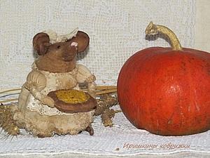 Мышка бежала, хвостиком вильнула... | Ярмарка Мастеров - ручная работа, handmade