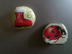 Детский мастер-класс по декупажу на камне | Ярмарка Мастеров - ручная работа, handmade
