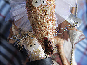 Авторская кукла   Ярмарка Мастеров - ручная работа, handmade