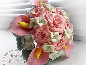 Скидка на свадебные букеты 20% | Ярмарка Мастеров - ручная работа, handmade