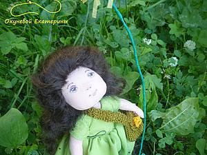 Девочка и одуванчик | Ярмарка Мастеров - ручная работа, handmade