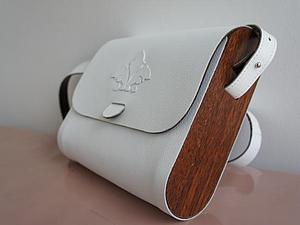 Мастер-класс: сумка из дерева и кожи