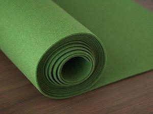 Поступление Зеленого 3 мм фетра | Ярмарка Мастеров - ручная работа, handmade