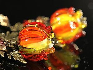 Огненные фонарики - Работа Дня :) | Ярмарка Мастеров - ручная работа, handmade