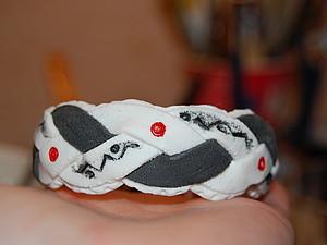 Делаем необычный браслет-косичку из полимерной глины. Ярмарка Мастеров - ручная работа, handmade.