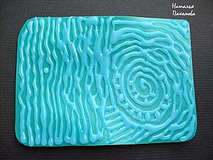 Текстурный лист для полимерной глины своими руками: быстро и просто. Ярмарка Мастеров - ручная работа, handmade.