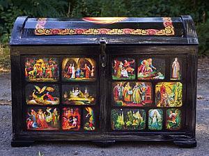 Сундук для Татьяны | Ярмарка Мастеров - ручная работа, handmade