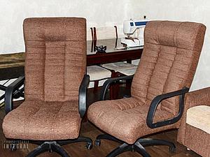 Как заменить обивку офисного кресла   Ярмарка Мастеров - ручная работа, handmade