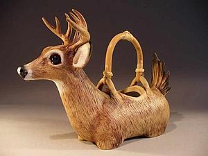 Потрясающие керамические чайники — Christy Crews Dunn | Ярмарка Мастеров - ручная работа, handmade