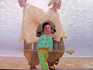 Любимые художники. Wang Yi Guang. Летающий Тибет. | Ярмарка Мастеров - ручная работа, handmade