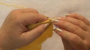 Учимся вязать крючком. Урок 7. Рельефные столбики. Ярмарка Мастеров - ручная работа, handmade.