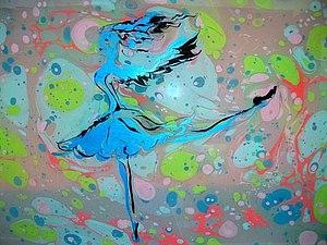 МК по рисованию на воде - Эбру. | Ярмарка Мастеров - ручная работа, handmade