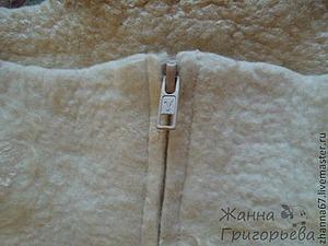 Эксперимент со вставкой молнии в валяные куртки. Ярмарка Мастеров - ручная работа, handmade.