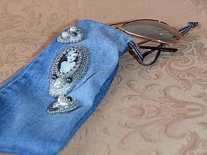Весеннее преображение старых джинсов.....   Ярмарка Мастеров - ручная работа, handmade