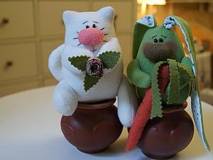Весёлые игрушки из флиса...Легко и просто... | Ярмарка Мастеров - ручная работа, handmade