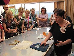 В гостях у Wollknoll (текстильный тур в Германию)   Ярмарка Мастеров - ручная работа, handmade