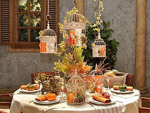 В ожидании осени... Оформление стола в стиле Прованс. | Ярмарка Мастеров - ручная работа, handmade