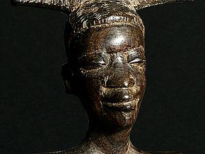 Африканские, резные гребни для волос. | Ярмарка Мастеров - ручная работа, handmade