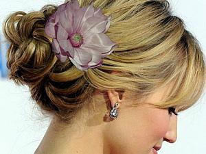 Как носить шелковые цветы...   Ярмарка Мастеров - ручная работа, handmade