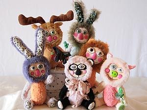 Мои Животные | Ярмарка Мастеров - ручная работа, handmade