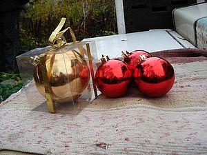 Новогодние шары для декупажа,совет для декупажниц | Ярмарка Мастеров - ручная работа, handmade