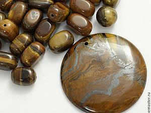Круглым кулонам круглые бусины!! | Ярмарка Мастеров - ручная работа, handmade