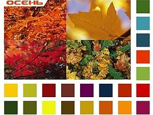 Цветовые типы: Осень   Ярмарка Мастеров - ручная работа, handmade