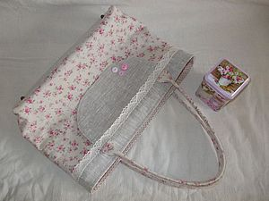 Раскрой и пошив текстильной сумки | Ярмарка Мастеров - ручная работа, handmade