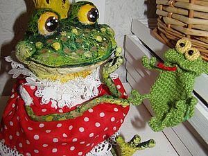 О лягушках-игрушках)   Ярмарка Мастеров - ручная работа, handmade