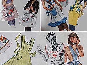 «Извините, я в фартуке...», или Из истории элемента одежды. Ярмарка Мастеров - ручная работа, handmade.
