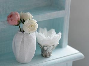 Как сделать миниатюрные вазочки. Ярмарка Мастеров - ручная работа, handmade.