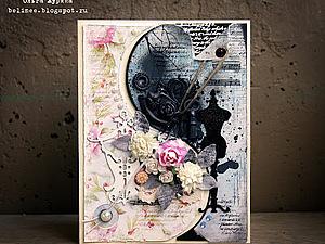 Свадебная открытка   Ярмарка Мастеров - ручная работа, handmade