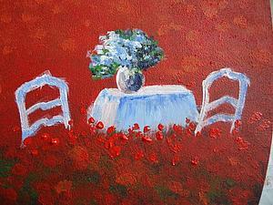 Мастер-класс по росписи кухонной доски. Домик в Маковом Поле. Ярмарка Мастеров - ручная работа, handmade.