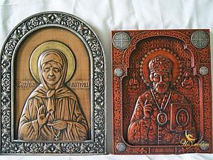 Резные иконы - реликвия семьи. Специальная цена. | Ярмарка Мастеров - ручная работа, handmade