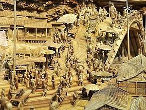 Китайский мастер резьбы по дереву попал в книгу рекордов Гиннеса   Ярмарка Мастеров - ручная работа, handmade