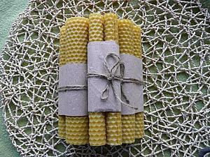 Делаем экосвечи из вощины   Ярмарка Мастеров - ручная работа, handmade