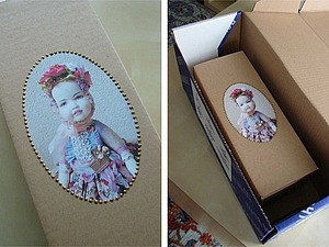 Как сделать упаковку для куклы за 10 минут | Ярмарка Мастеров - ручная работа, handmade