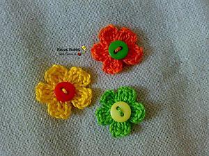 Мастер-класс: вяжем цветок крючком | Ярмарка Мастеров - ручная работа, handmade