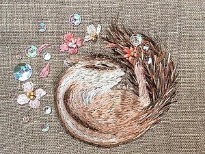 Волшебная вышивка Mayuka Morimoto Oyanagi   Ярмарка Мастеров - ручная работа, handmade
