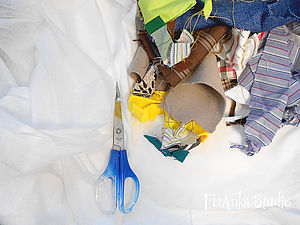 Лоскутный авангард, или куда девать обрезки. Ярмарка Мастеров - ручная работа, handmade.