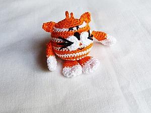 "Вяжем кота ""Рыжий Васька"". Ярмарка Мастеров - ручная работа, handmade."