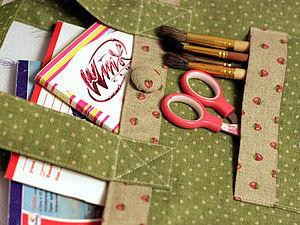 Мастер-класс по пошиву детской сумки | Ярмарка Мастеров - ручная работа, handmade