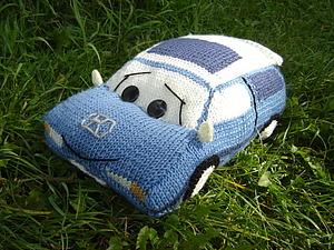 Машина -подушка. Ярмарка Мастеров - ручная работа, handmade.