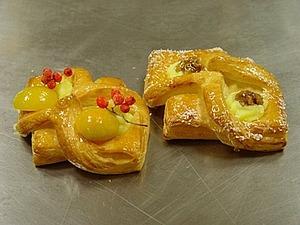 Красивые булочки из слоеного теста | Ярмарка Мастеров - ручная работа, handmade