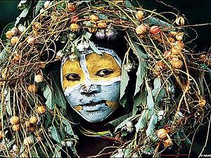 Девушка с венком. Экзотический образ | Ярмарка Мастеров - ручная работа, handmade