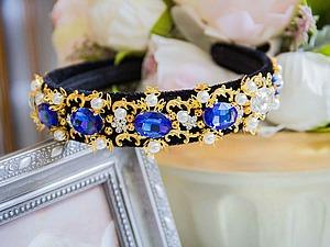 Видео.Ободки в стиле Dolce&Gabbana. | Ярмарка Мастеров - ручная работа, handmade