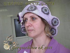 Мастер-класс: банная шапка «Глазунья» из войлока. Ярмарка Мастеров - ручная работа, handmade.